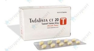 Tadalista CT 20mg : Does tadalista work, India | Strapcart