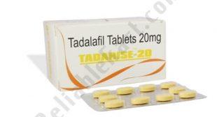 Tadarise 20 Mg | Buy Tadalafil Tablets 20 mg Online for ED Reliablekart
