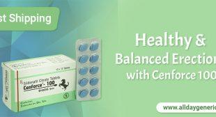 Cenforce 100 | Buy Generic Sildenafil 100 mg Online Price, Reviews, Uses