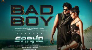 Bad Boy Lyrics from Saaho