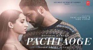 Pachtaoge Lyrics by Arijit Singh