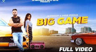 Big Game Lyrics – Miss Pooja