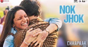 Nok Jhok Song lyrics| Chhapaak |Deepika Padukone
