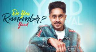 Yaad – Do You Remember Lyrics