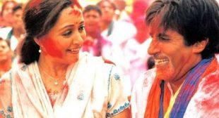 Holi Khele Raghuveera Lyrics In Hindi And English -Amitabh Bachchan