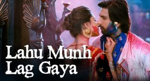 Lahu Munh Lag Gaya Lyrics Hindi And English -Goliyon Ki Rasleela Ram-leela