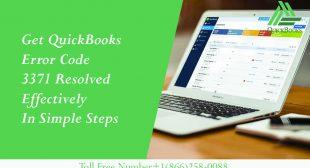 Get QuickBooks Error Code 3371 Resolved Effectively in Simple Steps