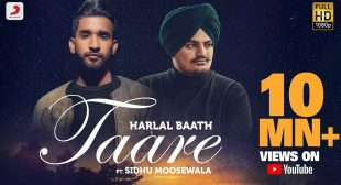 TAARE LYRICS – Harlal Batth, Sidhu Moose Wala
