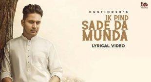 Ik Pind Sade Da Munda – Hustinder Lyrics