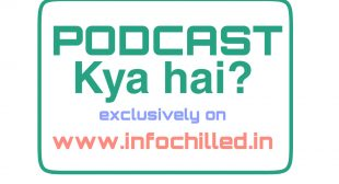 Info chilled india – what is podcast ?