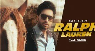 Ralph Lauren Lyrics – CM Chahal