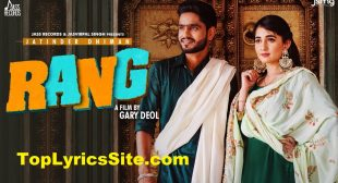 Rang Lyrics – Jatinder Dhiman – TopLyricsSite.com