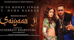 Saiyaan Ji – Yo Yo Honey Singh