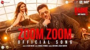 ZOOM ZOOM LYRICS – Radhe | Salman Khan