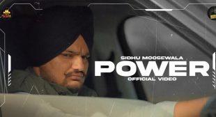 Power – Sidhu Moose Wala
