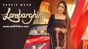 Lambarghinii Lyrics – Barbie Maan