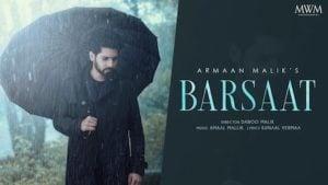 Barsaat Lyrics – Armaan Malik